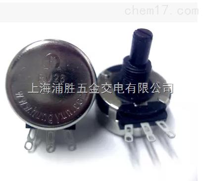 rv28 b472rv28 b472 4k7 碳膜电位器 塑料手柄 电焊机专用电位器