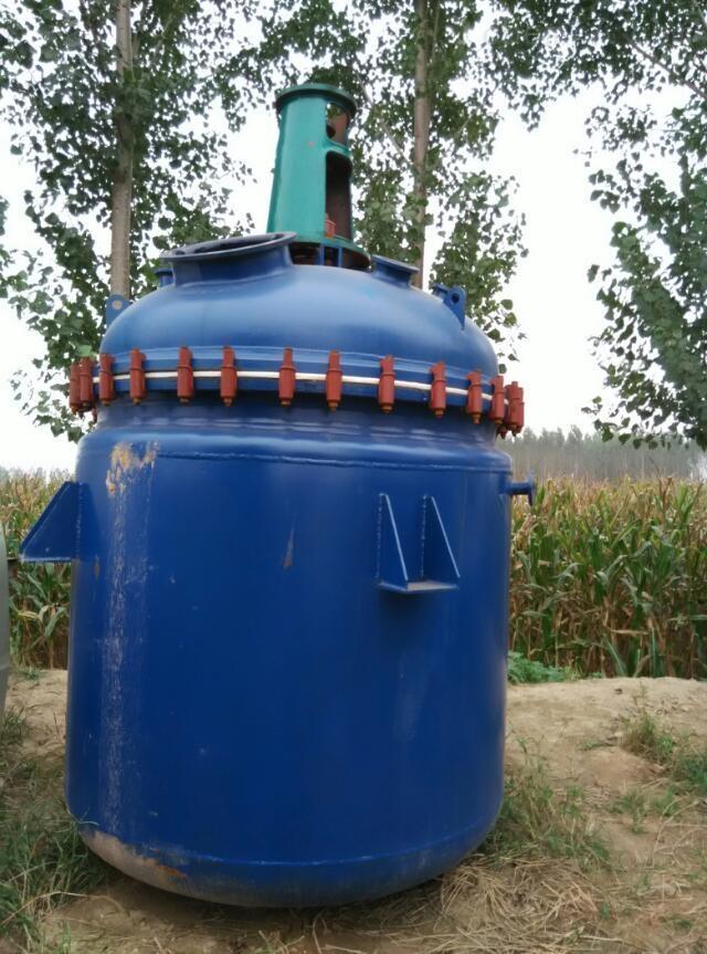 50升-10吨-二手搪瓷反应釜-二手反应釜