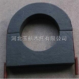 厂家促销保温橡塑管托 空调木托码