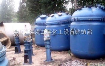 二手3吨搪瓷反应釜便宜出售