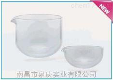 德国进口ISOLAB实验室石英玻璃圆底蒸发皿