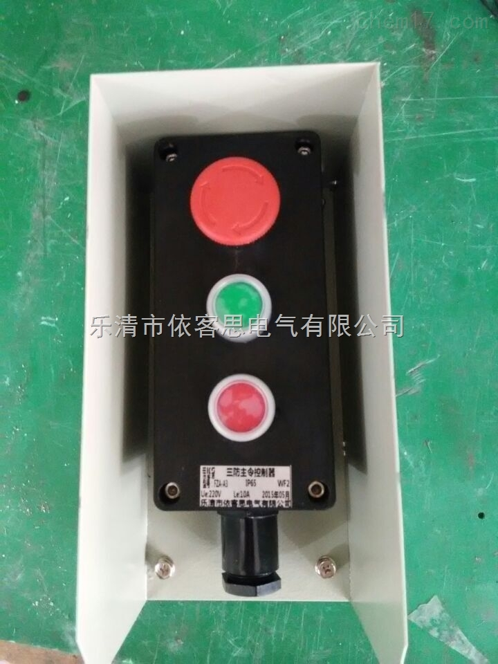 BZA8050-3防爆防腐主令控制器(两钮一开关)