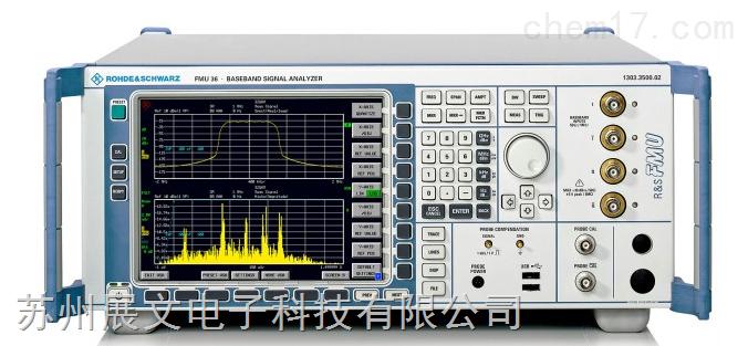 罗德与施瓦茨 FMU36 基带分析仪