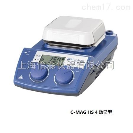 德国艾卡C-MAG HS 4数显型加热磁力搅拌器