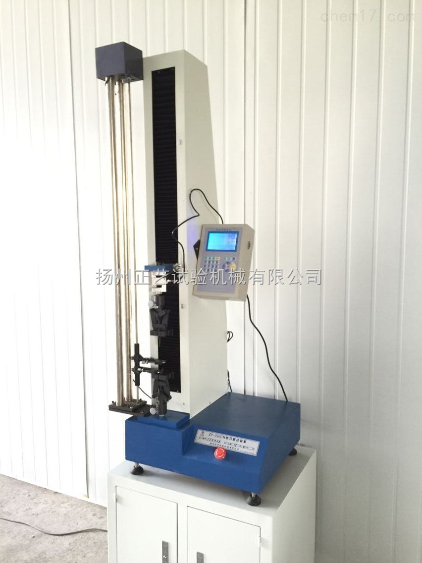 橡胶拉力机主要规格及技术参数 1. 执行标准:GB/T16491-2008 2. 测力: 分辨率: 1/250000; 连同小数点共6位,小数点浮动。 精度: 0.3%以上(一般可达到0.2%FS) 测量范围: 1 N ~ 2000 kN任意 3. 数字大变形/位移(连同小数点共5位,小数点浮动) 光电编码器: 分辨率:最高达 1um ; 响应频率 40 kHz ; 范 围:0~ 2000 mm 任意设置; 精度:仪表系统无误差 解码方式:4相解码; 引伸计(选配): 分辨力:1/100000 采样频率5