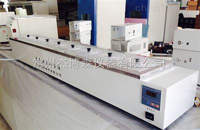 HHS-11-8单列8孔电热恒温水浴锅