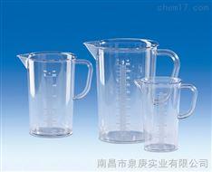 进口塑料带把刻度烧杯VITLAB德国进口SAN刻度烧杯