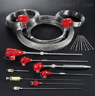无固定装置多对式铠装元件热电偶
