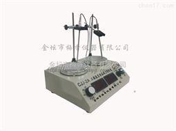 CJJ-2A两联数显磁力搅拌器数显恒温多头