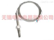 無錫熱電阻、熱電偶、PT100溫度傳感器 高溫屏蔽線式熱電阻螺紋式溫度傳感器