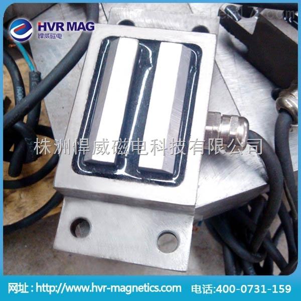 小型机械手夹持用电永磁工装夹具,电永磁焊接夹具