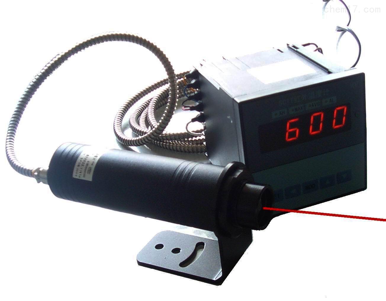 中心激光点瞄准型红外测温仪