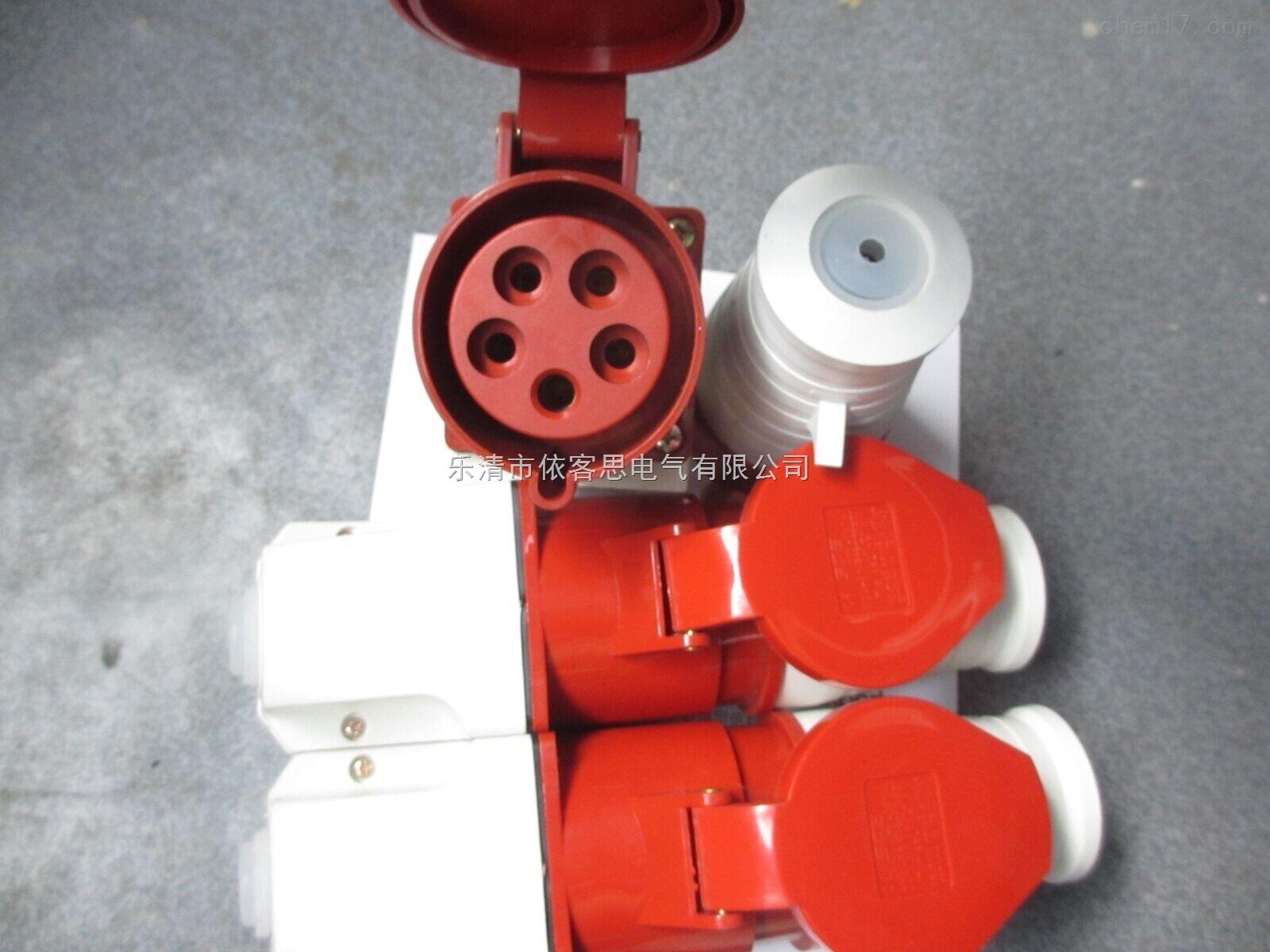 工业防水插头插座FCX-16A 220V 3孔 明装三防插接装置IP66
