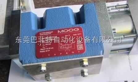 穆格MOOG伺服阀D661-4033国内现货