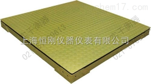 2吨不锈钢双层电子磅秤 计重两层厚的地磅秤