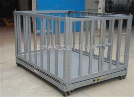 SCS带围栏牲畜秤,1吨畜牧秤