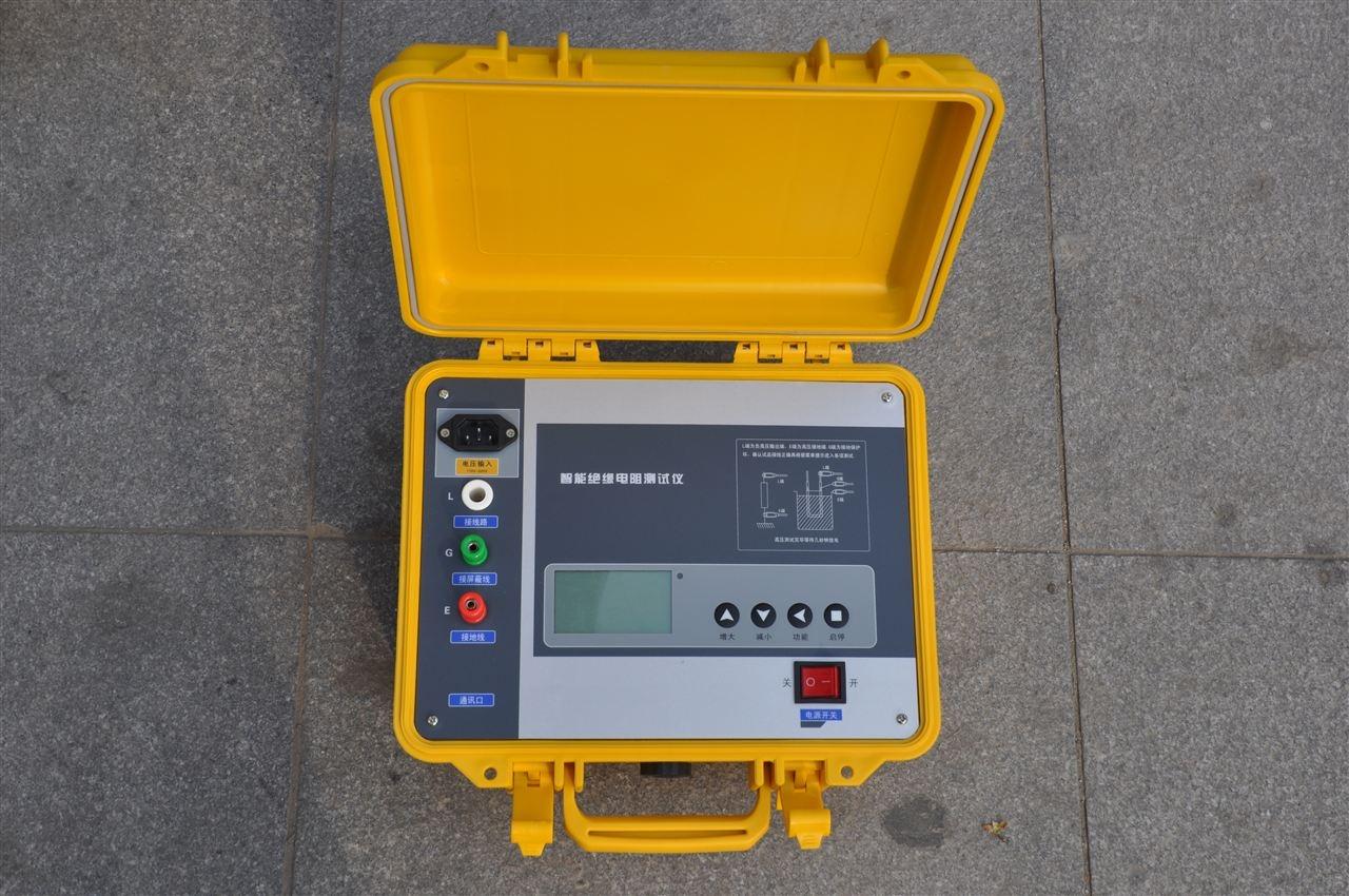一、BY5000-5KV型绝缘电阻测试仪主要特点 1.BY5000-5KV型绝缘电阻测试仪采用32位微控制器控制,全中文操作界面,操作方便。 2.自动计算吸收比和极化指数,并自动储存15秒、1分钟、2分钟、10分钟的每分钟数据便于分析。 3.输出电流大,短路电流大于5mA。 4.抗干扰能力强,能满足超高压变电站现场操作。 5.测试完毕自动放电,并实时监控放电过程。 6.内附可充电电池和充电器,当不使用背光灯时,充满电可连续使用6~12小时。 BY5000-5KV型绝缘电阻测试仪专用于试验室或现场做绝缘测试