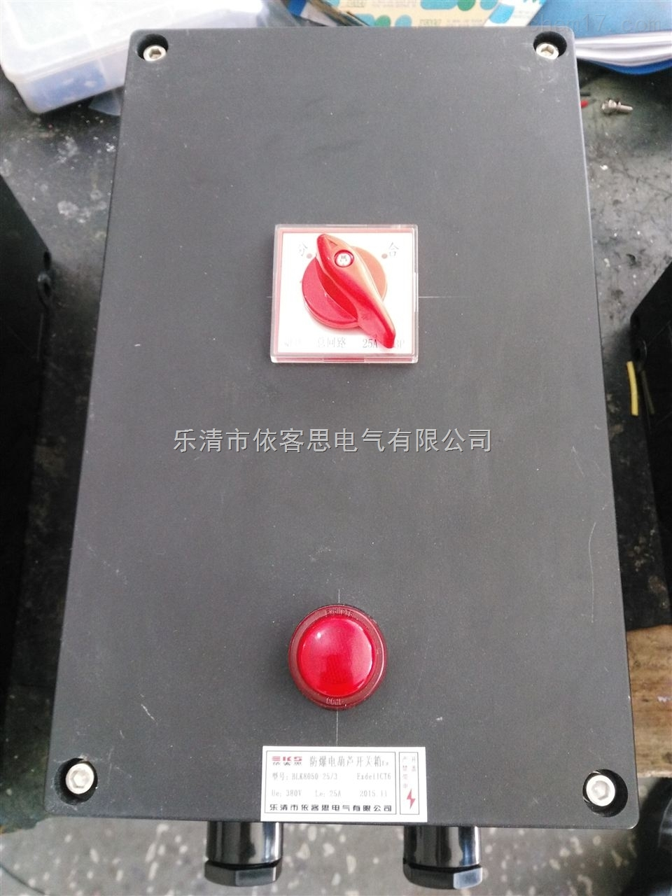 BQC8050-63/3防爆防腐断路器(电动葫芦开关箱)