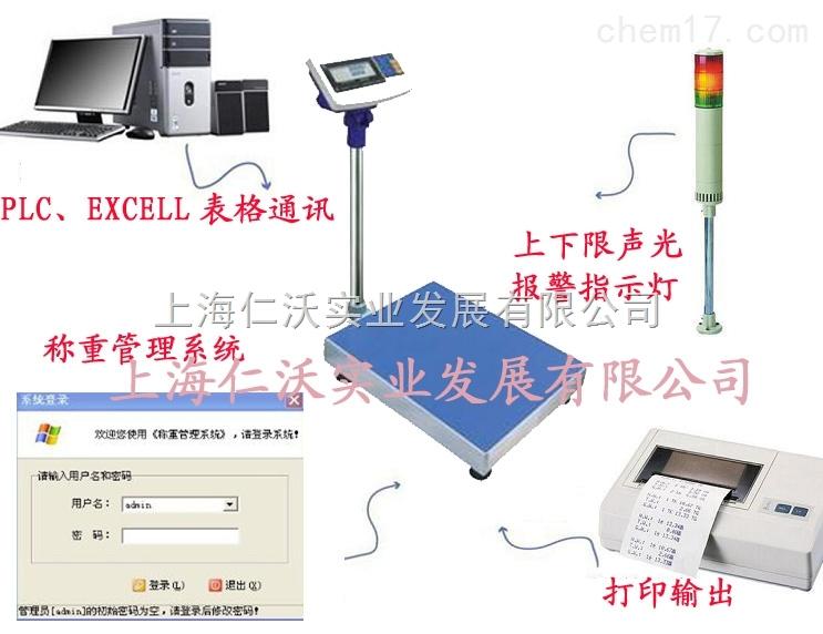 XK3150W-300kg继电信息输出电子台秤e=100g/d=20g