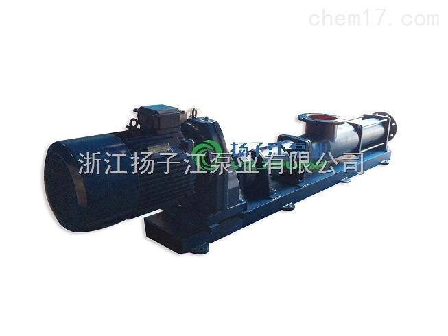 螺杆泵:输送混凝土,水煤浆、高岭土及纤维液等特殊物料输送泵