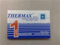 THERMAX温度纸单格121度温度纸测温专用感温贴纸