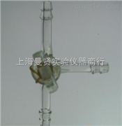 上海满贤实验仪器玻璃芯T形三路活塞