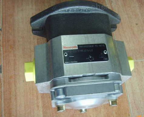 Rexroth力士乐油泵安装方法