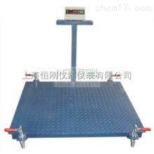 电子地磅秤产2吨移动式电子地磅秤