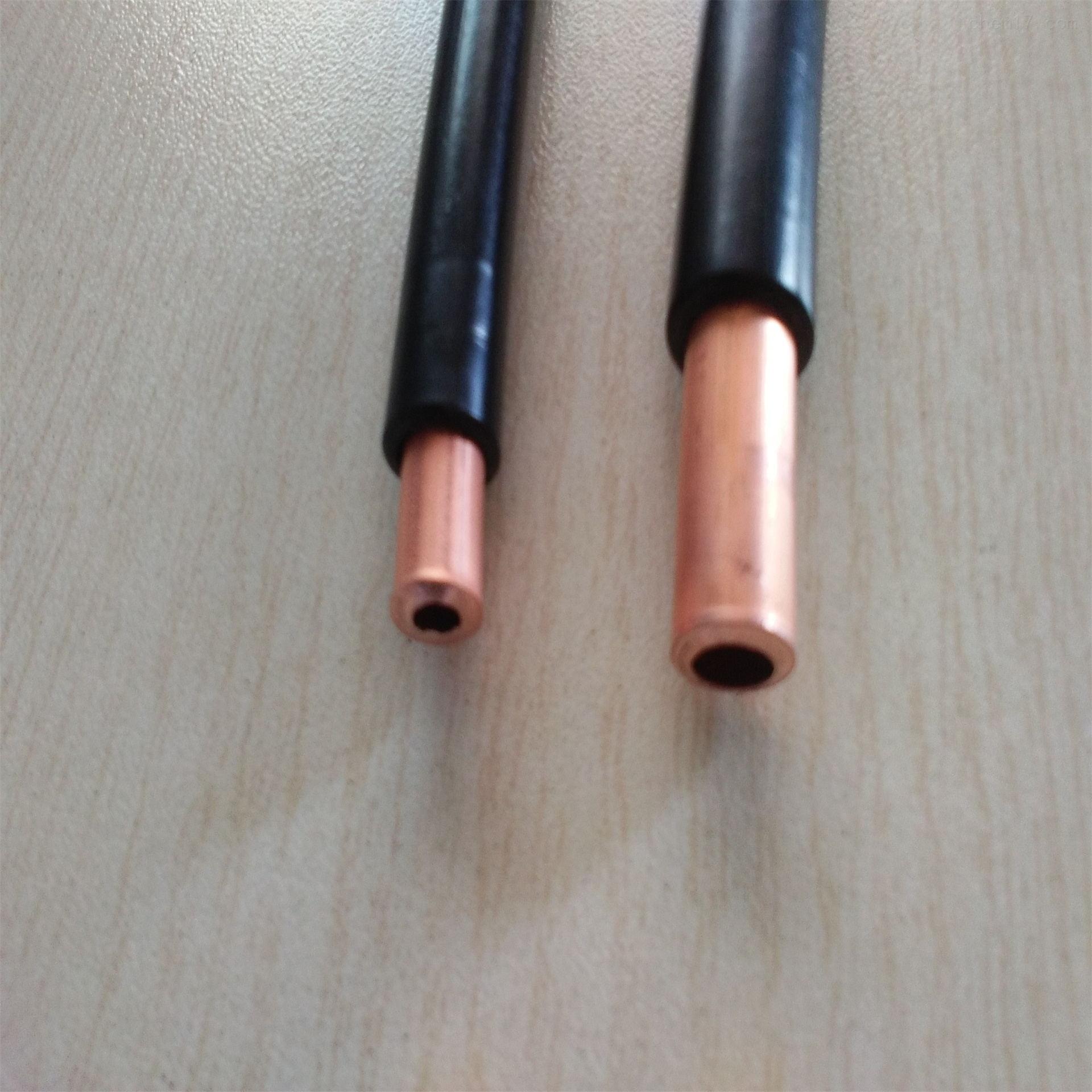 金华PVC护套紫铜管φ6*1、φ8*1、φ10*1包塑紫铜管