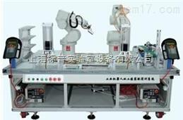 工业机器人双工位装配实训系统|机器人实训系统