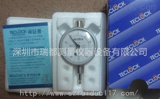 日本得乐TECLOCK小型百分表TM-34 产品说明
