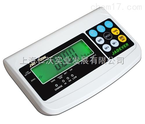 台湾钰恒JWI-700W-600kg电子称外接不干胶打印机