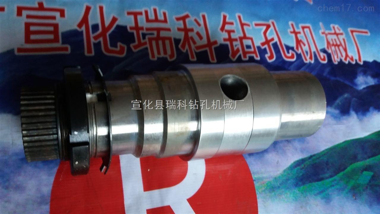 金科580钻机回转炮头358减速箱输出轴351液压马达