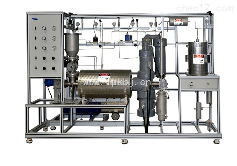 固体有机废弃物热解生产线