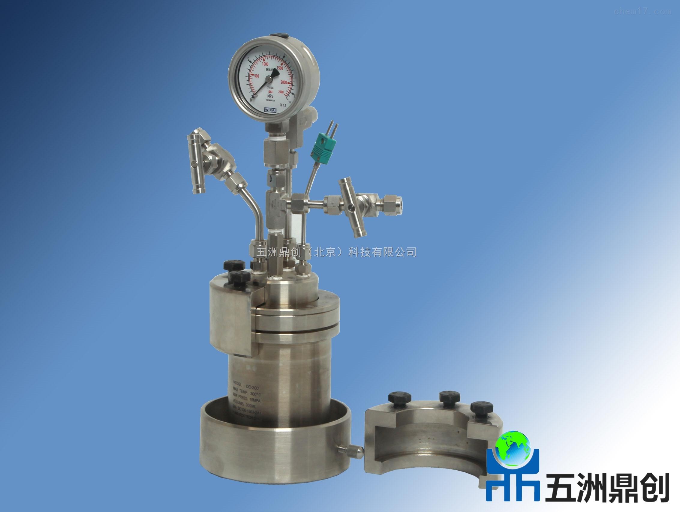 DC北京反应器实验室不锈钢简易高压反应釜
