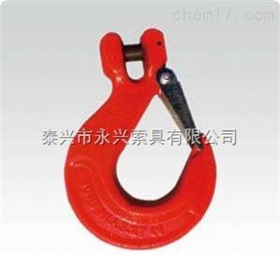 起重吊钩系列:羊角滑钩(带保险卡)技术参数