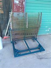 丝印架订做,不锈钢线路板台车,不锈钢推车烤架。