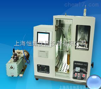 SYD-0165B减压馏程测定器(半自动触摸屏)