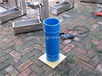 高铁仪器自密实混凝土静态抗离析性圆柱模*