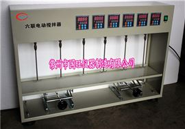 JJ-6D數顯六聯異步電動攪拌器