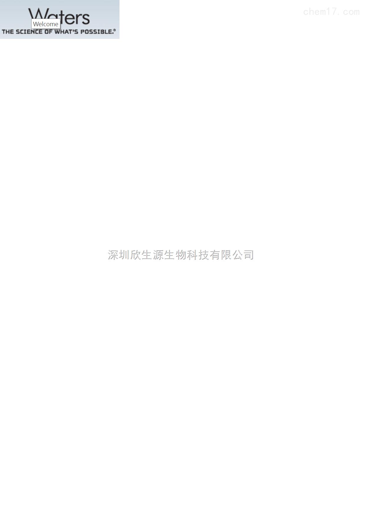 Waters色谱柱186003539