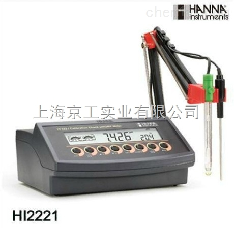 微电脑PH计HI2221