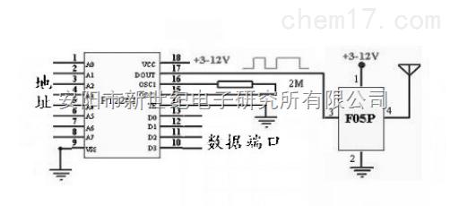 315/433m无数据休眠 无线模块 f05p