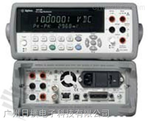 34411A台式万用表6位半高性能数字