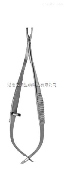 Biemer动脉弹簧剪 FST弹簧剪15032-08 动脉剪 动物动脉手术剪