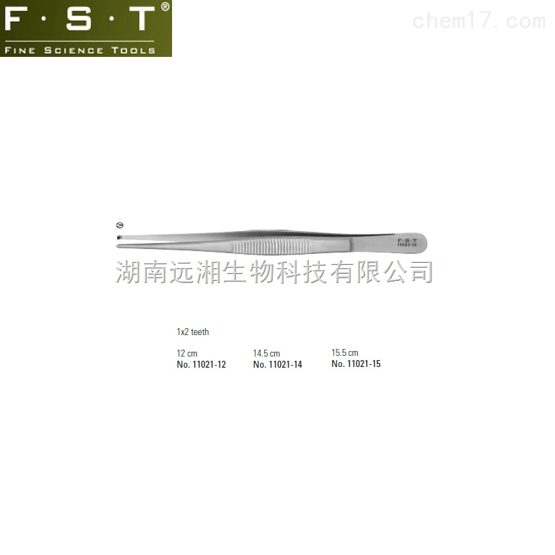 FST组织镊子 FST镊子11021-12 FST镊子11021-14 FST镊子11021-15