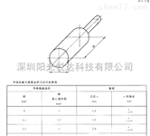 Sun-GBT11918電動汽車充電用連接器圓導體的可插入性量規