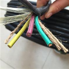 卷筒用橡套电缆QXFW-J3*16+2*6电缆价格