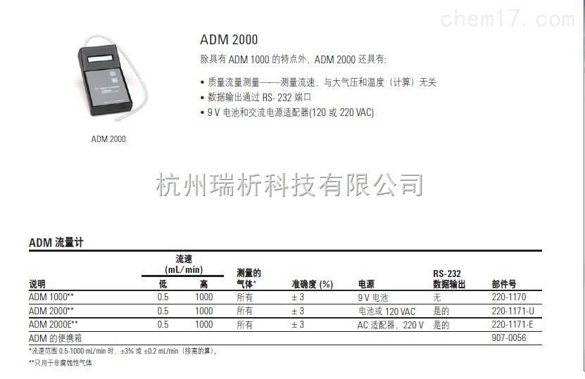 ADM1000色谱柱液相色谱柱ADM1000流量计-220-1170