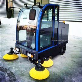 停車場用電動掃地機還是用電動洗地機博樂告訴您